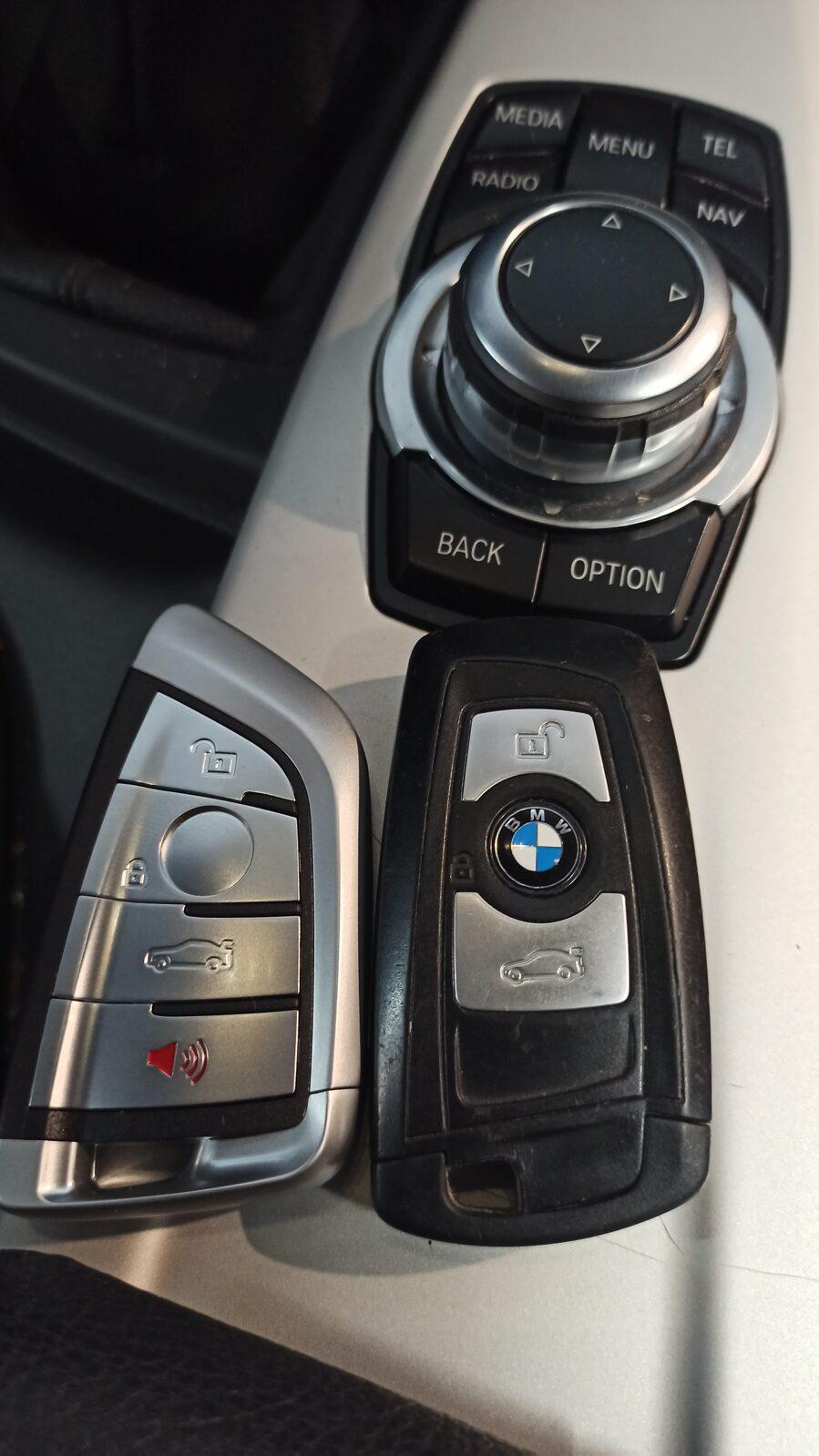 BMW F31- jaunas atslēgas programmēšana.